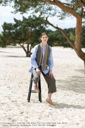 Model: Marjonne Verhoeven, Muah: Myrthe Schreurs, Styling: Cherinda van Dijk, Photography: Evelien van Rijn